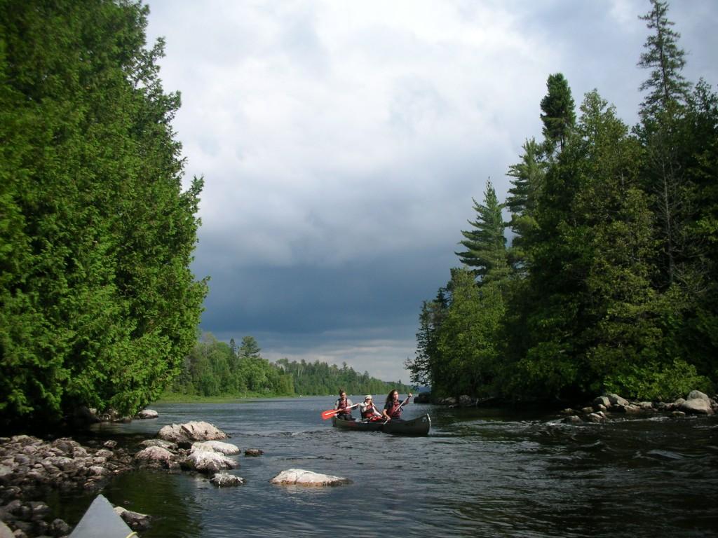 Portage Ontario - Activité Outward Bound