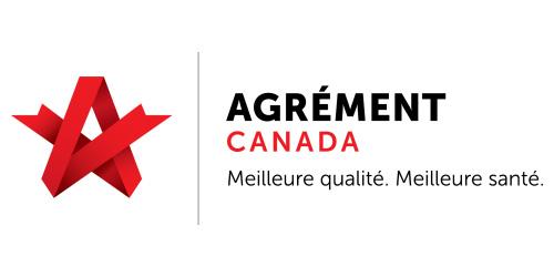 Agrément Canada - Logo français - Portage