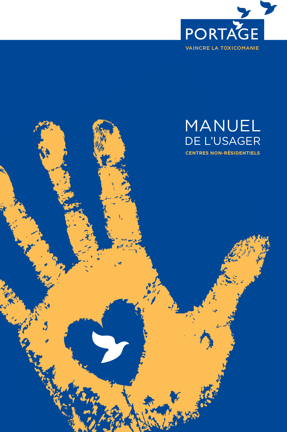 Manuel de l'usager - Centre non-résidentiels - Portage Québec - Français