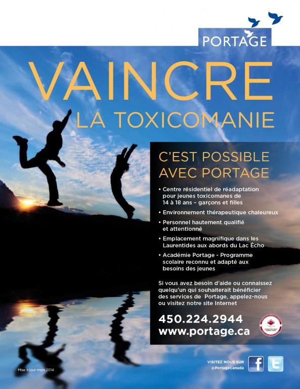 Portage - programme pour adolescent - Poster français