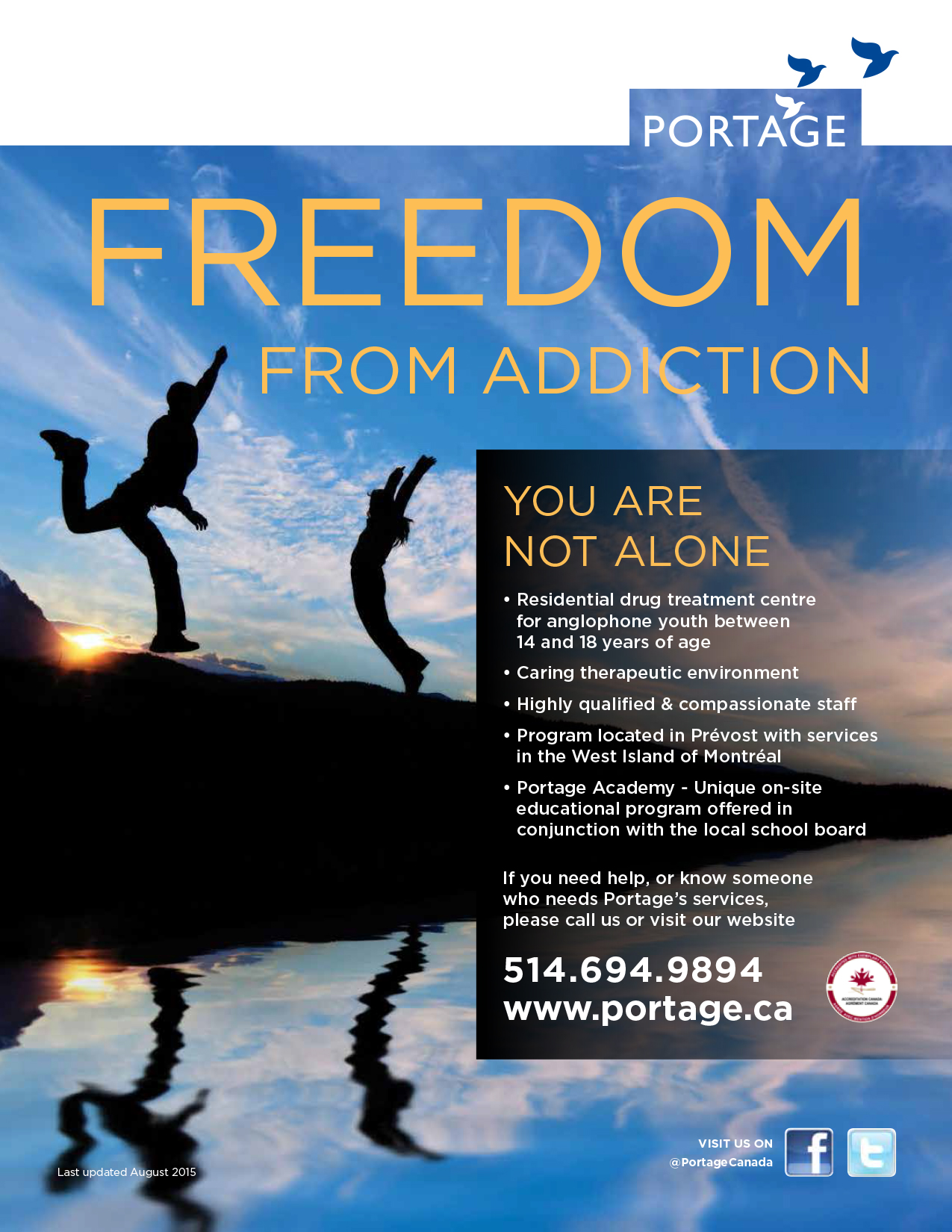 Portage Beaconsfield- adolescent program - English Poster