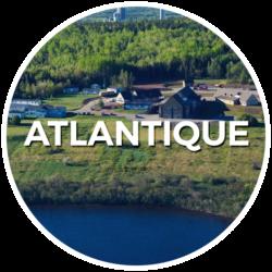 Logo région de l'Atlantique- Français