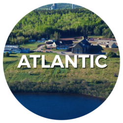 Logo région de l'Atlantique- English