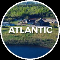 Logo région de l'Atlantique- English