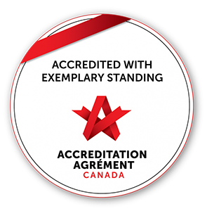 Logo Accreditation Canada English - Portage