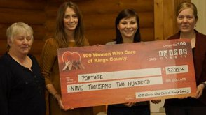 100 Women Who Care - donation - Portage Atlantic