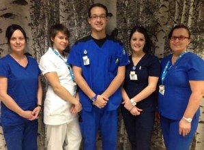 Portage Saint-Malachie - Visite d'infirmiers en stage