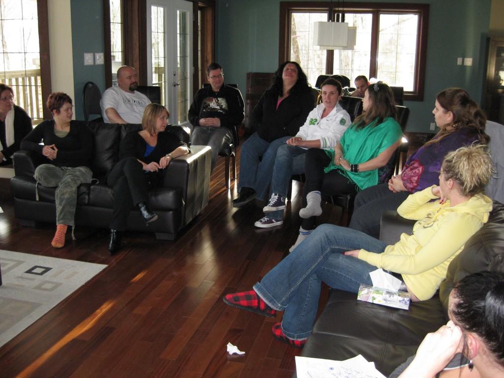 Portage Québec - Atelier de groupe mars 2010