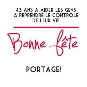 43e anniversaire de Portage - Fête de la métamorphose