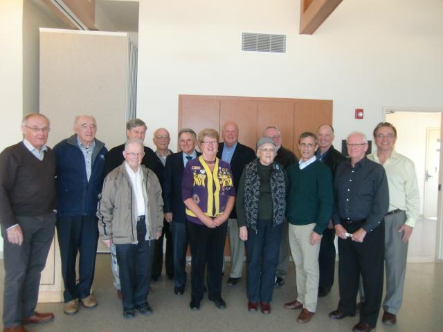 Portage atlantic volunteers recognition gathering