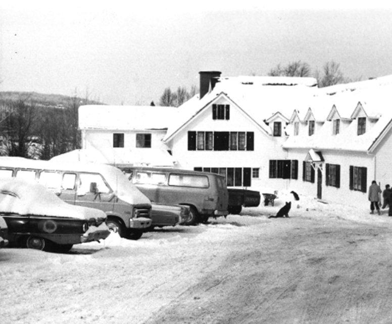 Portage Lac Écho - 1970 - hiver