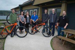 Cassidy Lake - Portage Atlantic - Bicycle donation