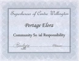 Portage Ontario - Community Social Responsibility Award