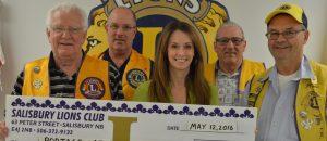 Club Lion donates to Portage Atlantic