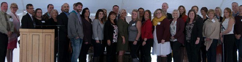 Portage Atlantic Staff at recognition ceremony