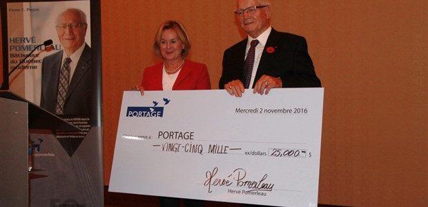 Hervé Pomerleau et Colette Taylor - Portage