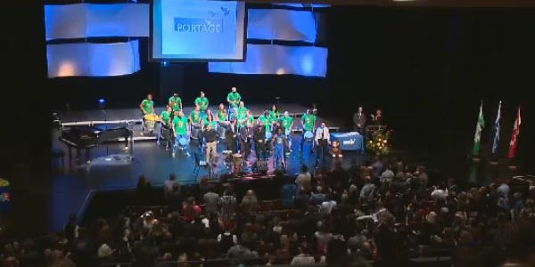 Portage - recognition ceremony