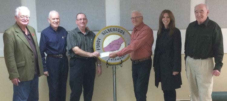 Silverados donates to Portage Atlantic