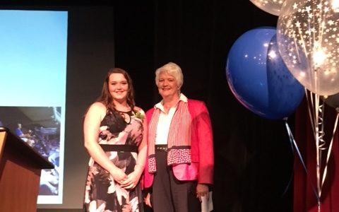 Skyes testimonial at the Portage Ontario Recognition Ceremony 2016