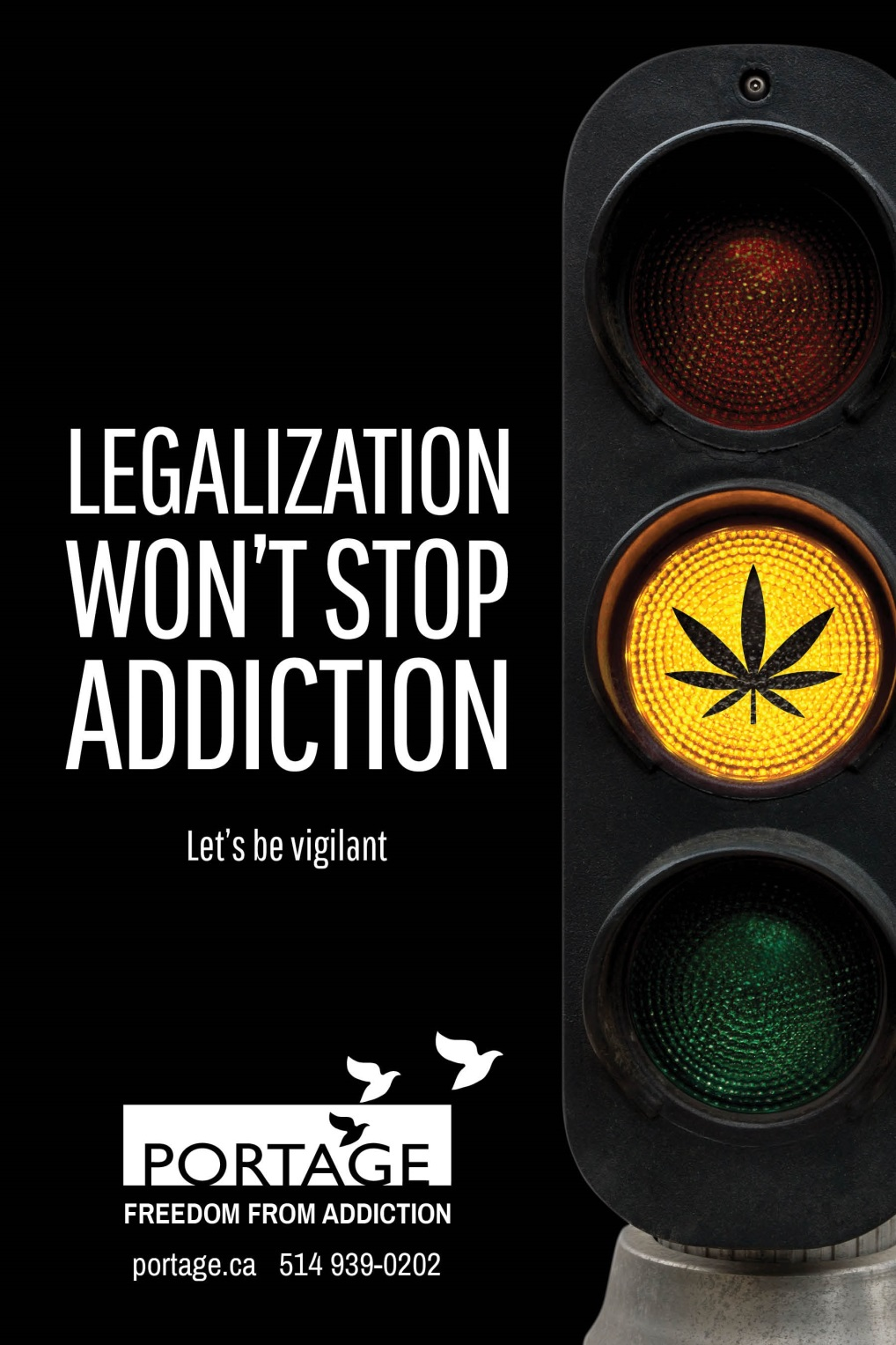 Legalization won't stop addiction