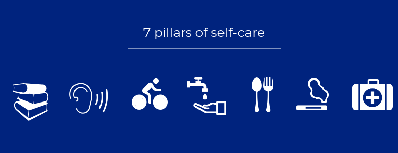 7 pilars of selfcare