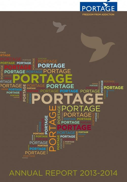 Portage Annual Report 2013-2014 - english cover