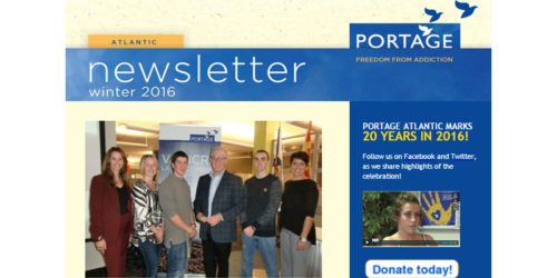 Portage Atlantic newsletter - winter 2016